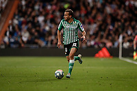 2nd November 2019; Estadio Santiago Bernabeu, Madrid, Spain; La Liga Football, Real Madrid versus Real Betis; Sergio Canales (Betis)  in action during the match - Editorial Use