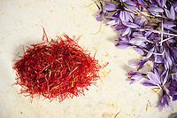 Italy - Abruzzo - Saffron