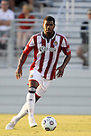 05 June 2012: Chivas USA's Rauwshan McKenzie. The Carolina RailHawks (NASL) lost 1-2 to Club Deportivo Chivas USA (MLS) at WakeMed Soccer Stadium in Cary, NC in a 2012 Lamar Hunt U.S. Open Cup fourth round game.