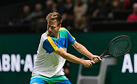 Rotterdam, The Netherlands, 11 Februari 2019, ABNAMRO World Tennis Tournament, Ahoy, first round match: Peter Gojowczyk (GET), Photo: www.tennisimages.com/Henk Koster