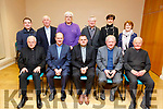 Attending the farewell party of Fr Piotr Delimat in St John&rsquo;s Parish Centre on Thursday night.<br /> Seated l to r: Fr Mario Jachym, Fr Padraig Walsh, Fr Piotr Delimat, Fr Tadgh Fitzgerald, Fr Seamus Linnane, Back row: Fr Sean Jones, Bill Looney, Decon Denis Kelliher, Fr Ned Barrett, Cllr Norma Foley (Mayor of Kerry) and Kit Ryan.