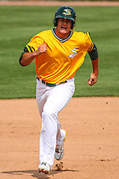 2014 July 20 Bowling Green Hot Rods (Rays) @ Beloit Snappers (A's)