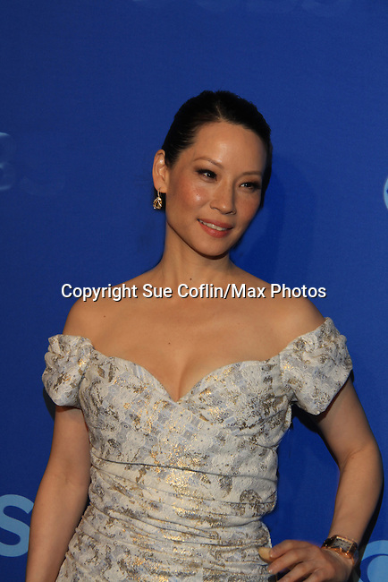 Lucy Liu - Elementary at the CBS Upfront on May 15, 2013 at Lincoln Center, New York City, New York. (Photo by Sue Coflin/Max Photos)