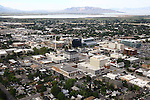 1309-22 2755<br /> <br /> 1309-22 BYU Campus Aerials<br /> <br /> Brigham Young University Campus, Provo, <br /> <br /> Downtown Provo City, Utah Valley, Y Mountain, Sunrise<br /> <br /> September 6, 2013<br /> <br /> Photo by Jaren Wilkey/BYU<br /> <br /> &copy; BYU PHOTO 2013<br /> All Rights Reserved<br /> photo@byu.edu  (801)422-7322