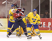 Anton Stralman (Timra IK - Toronto Maple Leafs), Shawn Weller (Clarkson University - Ottawa Senators), Erik Andersson (HV 71)The US Blue team lost to Sweden 3-2 in a shootout as part of the 2005 Summer Hockey Challenge at the National Junior (U-20) Evaluation Camp in the 1980 rink at Lake Placid, NY on Saturday, August 13, 2005.