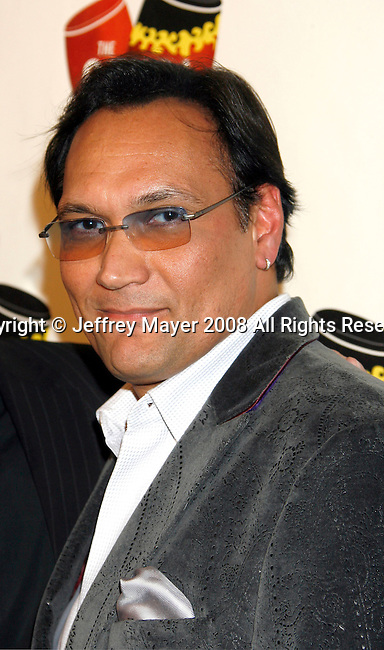 LOS ANGELES, CA. - December 10: Actor Jimmy Smits arrives at The Conga Room Grand Opening At L.A. LIVE on December 10, 2008 in Los Angeles, California