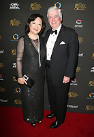 29 October 2017 - Los Angeles, California - Bianca Chen, Chris Dodd. 2nd Annual Golden Screen Awards Hosted By U.S. China Film And TV Industry Expo held at The NOVO at LA Live. Photo Credit: F. Sadou/AdMedia