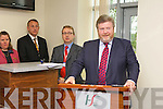 Dr. James O'Reilly, Minister for Health, speaking at the official opening of the Emergency Department at Kerry General Hospital on Friday.
