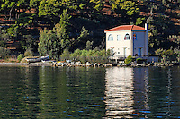 A small house in Galatas across Poros, Greece