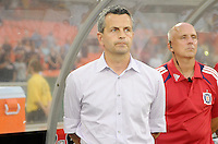 Chicago Fire head coach Frank Klopas. D.C. United defeated The Chicago Fire 4-2 at RFK Stadium, Wednesday August 22, 2012.