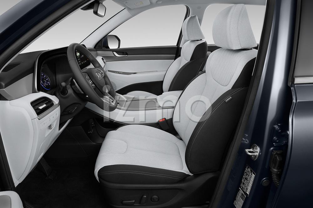 Front seat view of a 2020 Hyundai Palisade SEL 5 Door SUV front seat car photos