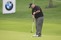 Kevin Stadler (USA) putts on the 9th green during Thursday's Round 1 of the 2014 BMW Masters held at Lake Malaren, Shanghai, China 30th October 2014.<br /> Picture: Eoin Clarke www.golffile.ie
