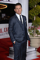 Actor Channing Tatum at the world premiere of his movie &quot;Hail Caesar!&quot; at the Regency Village Theatre, Westwood.<br /> February 1, 2016  Los Angeles, CA<br /> Picture: Paul Smith / Featureflash