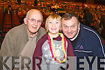 Pictured at Elvis concert at the INEC, Killarney, on Saturday were l-r: Tony Griffin, Martin Griffin and Harry Griffin (all Tralee).