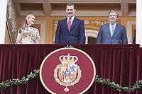 King Felipe at the Las Ventas Bullring