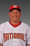 14 March 2008: ..Portrait of Marcos Yepez, Washington Nationals Minor League player at Spring Training Camp 2008..Mandatory Photo Credit: Ed Wolfstein Photo