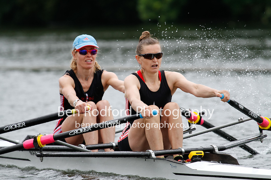 W.MasB.2x QF -  Berks: 259 Mortlake Anglian & Alpha RC -  Bucks: 260 Wallingford RC<br /> <br /> Friday - Henley Masters Regatta 2016<br /> <br /> To purchase this photo, or to see pricing information for Prints and Downloads, click the blue 'Add to Cart' button at the top-right of the page.