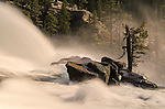 Waterwheels in LeConte Falls, Tuolumne River, Yosemite National Park, California