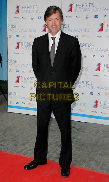 RICHARD MADELEY.The British Inspiration Awards 2011, The Brewery, Chiswell St., London, England..April 8th, 2011.full length black suit white shirt grey gray tie.CAP/CAN.©Can Nguyen/Capital Pictures.