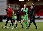 Chris Wilder manager of Sheffield Utd celebrates with the fans during the English Football League One match at Bramall Lane, Sheffield. Picture date: December 31st, 2016. Pic Jamie Tyerman/Sportimage