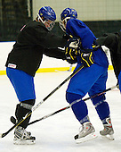 ? - Calle Klingberg (Sweden - 17) - Team Sweden practiced at the Urban Plains Center in Fargo, North Dakota, on Saturday, April 18, 2009 in the morning prior to their final match against the Czech Republic during the 2009 World Under 18 Championship.