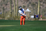 Y.E. Yang (S.KOR) in action on the 9th hole during Day 3 of the Accenture Match Play Championship from The Ritz-Carlton Golf Club, Dove Mountain, Friday 25th February 2011. (Photo Eoin Clarke/golffile.ie)