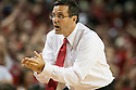 November 8, 2013: Head coach Tim Miles of the Nebraska Cornhuskers in the game against the Florida Gulf Coast Eagles at the Pinnacle Bank Areana, Lincoln, NE. Nebraska defeated Florida Gulf Coast 79 to 55.
