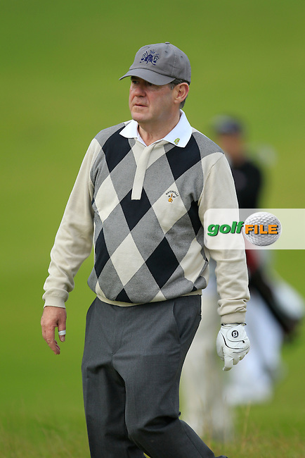 J.P McManus during Round 2 of the Alfred Dunhill Links Championship at Kingsbarns Golf Club on Friday 27th September 2013.<br /> Picture:  Thos Caffrey / www.golffile.ie