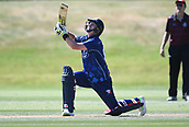 6th December 2017, Eden Park, Auckland, New Zealand; Ford Trophy One Day Cricket, Auckland Aces versus Canterbury Wizards;  Colin Munro during his century innings