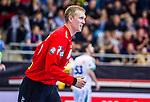 Rene VILLADSEN (#12 SC DHfK Leipzig) \ beim Spiel in der Handball Bundesliga, SG BBM Bietigheim - SC DHfK Leipzig.<br /> <br /> Foto &copy; PIX-Sportfotos *** Foto ist honorarpflichtig! *** Auf Anfrage in hoeherer Qualitaet/Aufloesung. Belegexemplar erbeten. Veroeffentlichung ausschliesslich fuer journalistisch-publizistische Zwecke. For editorial use only.