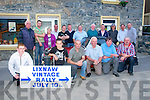 Launch: Pictured at the launch of the Liznaw Vintage Rally at the Railway bar, Lixnaw on friday night last were in frontChris o'Mahony, David Silles, John GOggin, John McNama, Tom Heaphy & Ahthony Fealy. Back: Mike Fealy, Paddy Lyons, Margaret O' Sullivan, John Edward Griffin, Stephen Mahony,  Mike Leen Matt Quinlan, Thomas McElligott, John Griffin, Tim O'Connell, Danny McElligott, & Brendan O'Grady.....Press release sent to news @kerryseye.