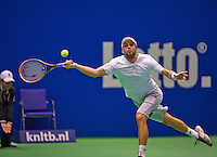 December 20, 2014, Rotterdam, Topsport Centrum, Lotto NK Tennis, Boy Westerhof (NED)<br /> Photo: Tennisimages/Henk Koster