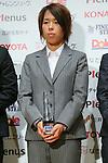 Azusa Iwashimizu (Beleza), November 13, 2012 - Football / Soccer : Plenus Nadeshiko LEAGUE 2012 Award ceremony in Tokyo, Japan. (Photo by Yusuke Nakanishi/AFLO SPORT).