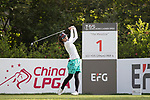 Golfer Emi Komoda of Japan during the 2017 Hong Kong Ladies Open on June 9, 2017 in Hong Kong, China. Photo by Chris Wong / Power Sport Images