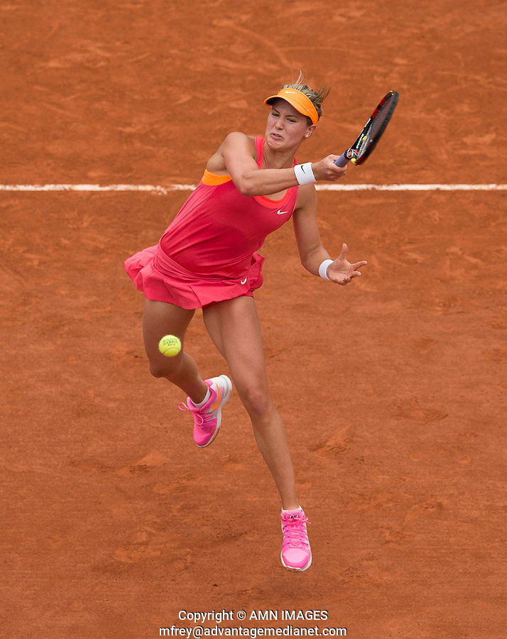 EUGENIE BOUCHARD (CAN)<br /> <br /> Tennis - French Open 2014 -  Roland Garros - Paris -  ATP-WTA - ITF - 2014  - France -  3rd June 2014. <br /> <br /> &copy; AMN IMAGES