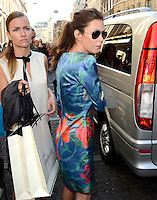 Anna Friel.Temperley London - s/s 2013 catwalk show.Grand Connaught Rooms,  London 16/09/12..Photo by Jane Burrows/People Press.