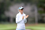 CHAPEL HILL, NC - OCTOBER 14: North Carolina assistant coach Aimee Neff. The second round of the Ruth's Chris Tar Heel Invitational Women's Golf Tournament was held on October 14, 2017, at the UNC Finley Golf Course in Chapel Hill, NC.