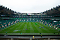 A general view of Twickenham, home of England Rugby<br /> <br /> Photographer Bob Bradford/CameraSport<br /> <br /> 2018 Quilter Internationals - England v Australia - Saturday 24th November 2018 - Twickenham - London<br /> <br /> World Copyright &copy; 2018 CameraSport. All rights reserved. 43 Linden Ave. Countesthorpe. Leicester. England. LE8 5PG - Tel: +44 (0) 116 277 4147 - admin@camerasport.com - www.camerasport.com