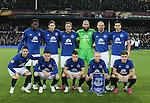 Everton team group - UEFA Europa League Round of 32 Second Leg - Everton vs Young Boys - Goodison Park Stadium - Liverpool - England - 26th February 2015 - Picture Simon Bellis/Sportimage