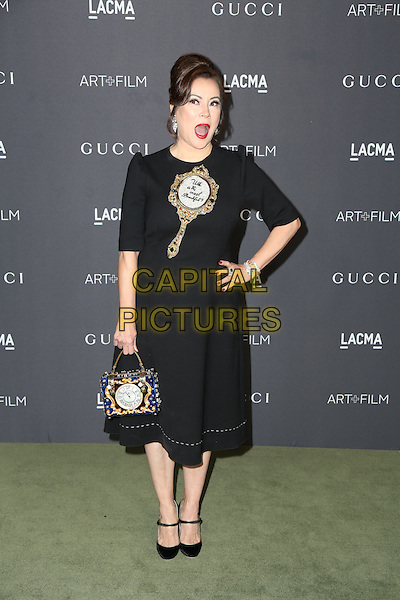 LOS ANGELES, CA - OCTOBER 29: Jennifer Tilly attends the 2016 LACMA Art + Film Gala honoring Robert Irwin and Kathryn Bigelow presented by Gucci at LACMA on October 29, 2016 in Los Angeles, California.  <br /> CAP/MPI/PA<br /> &copy;PA/MPI/Capital Pictures