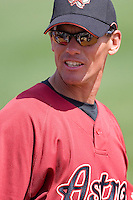 Biggio, Craig 7174.jpg. Spring Training. Cincinnati Reds at Houston Astros. Spring Training Game. Friday March 20th, 2009 in Kissimmee., Florida. Photo by Andrew Woolley.