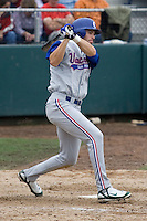 July 22, 2007: Vancouver Canadians' outfielder Shane Keough takes a swing during a Northwest League game against the Everett AquaSox at Everett Memorial Stadium in Everett, Washington.
