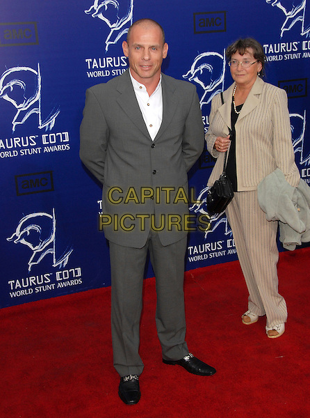 VLADIMIR ORLOV.The 2007 Taurus Stunt Awards held at Paramount Studios in Hollywood, California, USA..May 20th, 2007.full length grey gray suit.CAP/DVS.©Debbie VanStory/Capital Pictures