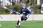 Los Angeles, CA 03/12/16 - Brody Bolerjack (Utah State #30) in action during the Utah State vs Loyola Marymount MCLA Men's Division I game at Leavey Field at LMU.  Utah State defeated LMU 17-4.