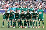 Sociedad Deportiva Eibar's team photo during La Liga match. February 6,2016. (ALTERPHOTOS/Acero)