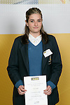 Girls Equestrian (Eventing) winner Kim Fiehn. ASB College Sport Young Sportperson of the Year Awards 2007 held at Eden Park on November 15th, 2007.