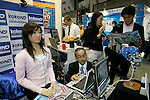 Receptionist System Saya poses for a demonstration at the International Robot Exhibition in Tokyo on November 27, 2009. Some 200 robot companies and institutes exhibit their latest robot technologies at a four-day exhibition (photo Laurent Benchana/Nippon News).
