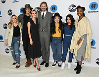 05 February 2019 - Pasadena, California - Emma Hunton, Tommy Martinez, Maia Mitchell, Josh Pence, Sherry Cola, Cierra Ramirez, Zuri Adele. Disney ABC Television TCA Winter Press Tour 2019 held at The Langham Huntington Hotel. <br /> CAP/ADM/BT<br /> &copy;BT/ADM/Capital Pictures