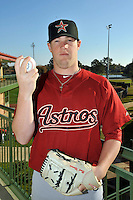 Feb 25, 2010; Kissimmee, FL, USA; The Houston Astros pitcher Bud Norris (20) during photoday at Osceola County Stadium. Mandatory Credit: Tomasso De Rosa / Four Seam Images