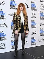 21 November 2019 - Los Angeles, California - Natasha Lyonne. 2019 Film Independent Spirit Awards Nominations held at The Line LA. Photo Credit: Birdie Thompson/AdMedia
